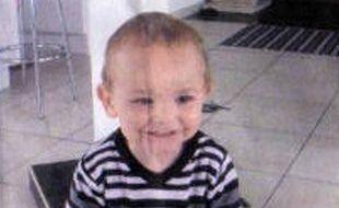 Photo fournie par la gendarmerie de Enzo, 2 ans, disparu le 22 décembre en Haute-Marne.