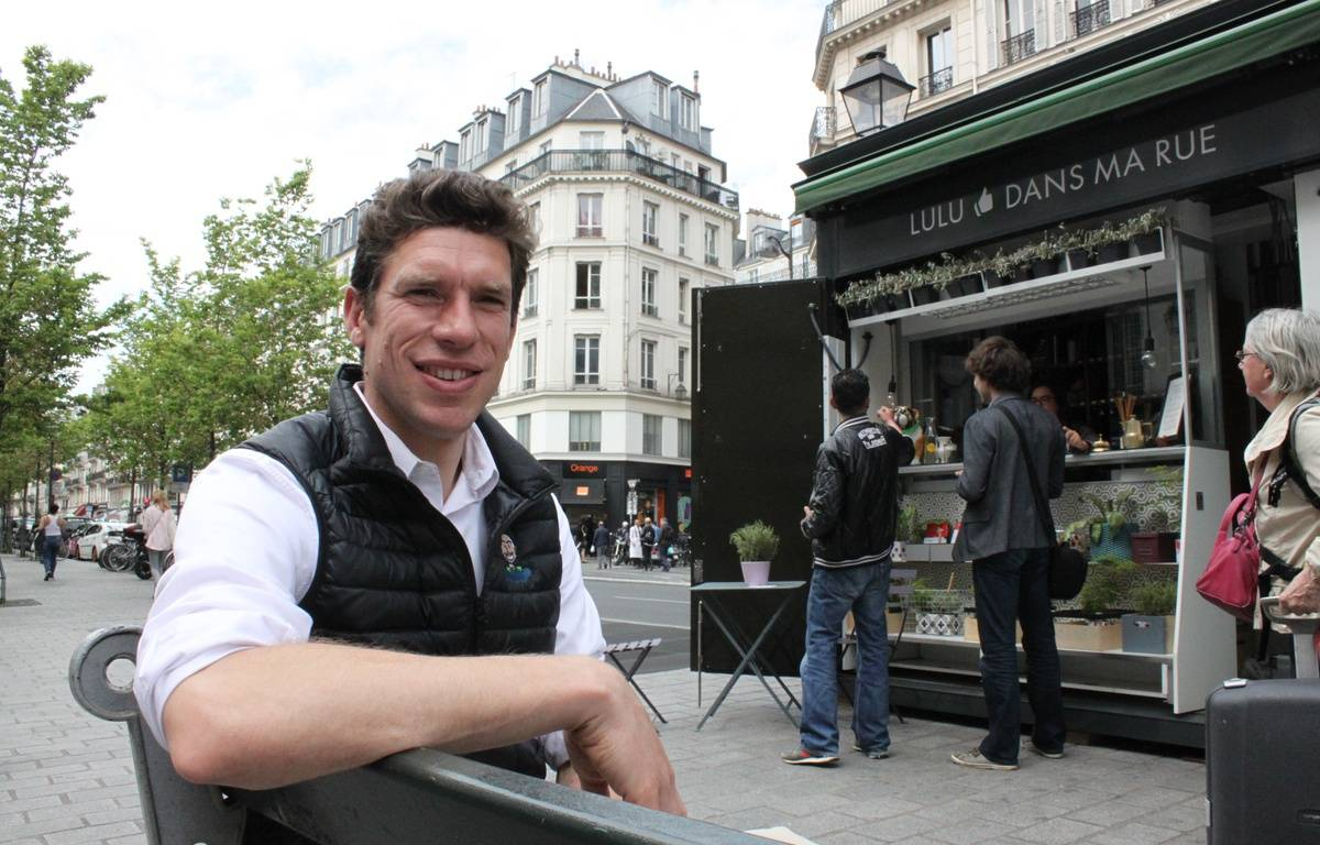 """En avril 2015, Charles-Edouard Vincent a lancé """"Lulu dans ma rue"""", une conciergerie qui veut recréer du lien social au coeur de Paris. – F. Pouliquen / 20 Minutes"""
