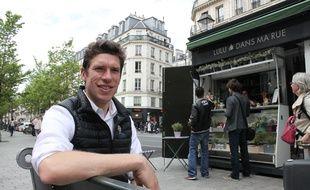 """En avril 2015, Charles-Edouard Vincent a lancé """"Lulu dans ma rue"""", une conciergerie qui veut recréer du lien social au coeur de Paris."""