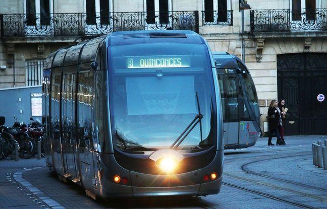 Tramway à Bordeaux