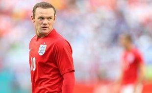 L'attaquant de la sélection anglaise Wayne Rooney.