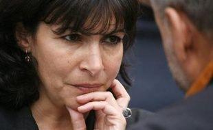 """Anne Hidalgo, première adjointe PS au maire de Paris Bertrand Delanoë estime que pour les élections municipales de 2008 à Paris """"l'objectif, c'est la parité""""."""