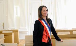 Johanna Rolland a été élue maire par le conseil municipal de Nantes, le 04 04 2014.
