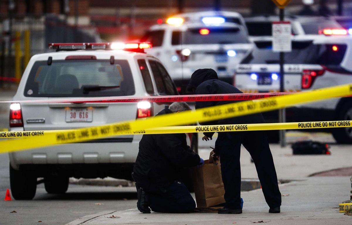 Illustration d'une voiture de police dans l'Etat de l'Ohio, aux Etats-Unis.  – John Minchillo/AP/SIPA