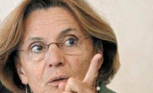 La rectrice, Marie-Jeanne Philippe.