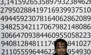 Le nombre Pi (détail).