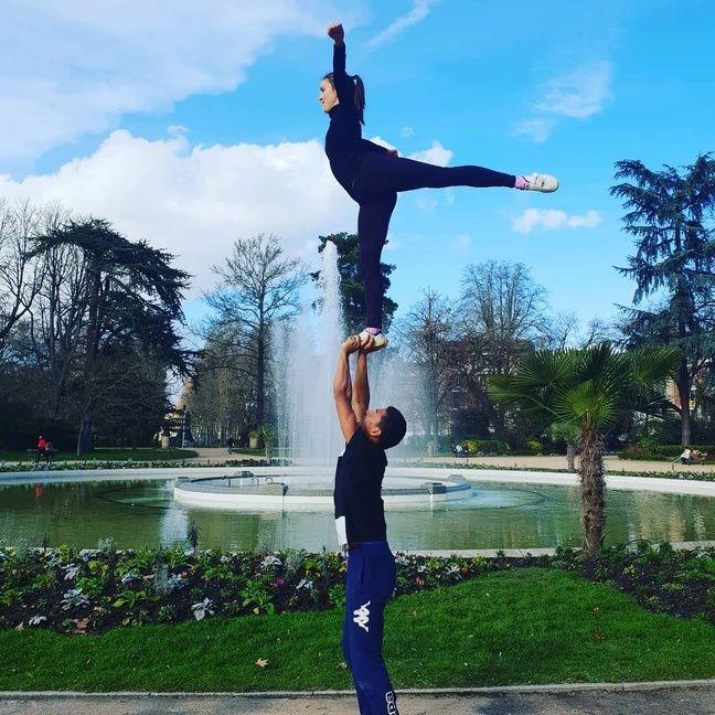 L'été, les Wolves Toulouse Cheerleading s'entraînent dans le jardin du Grand-Rond, en centre-ville.