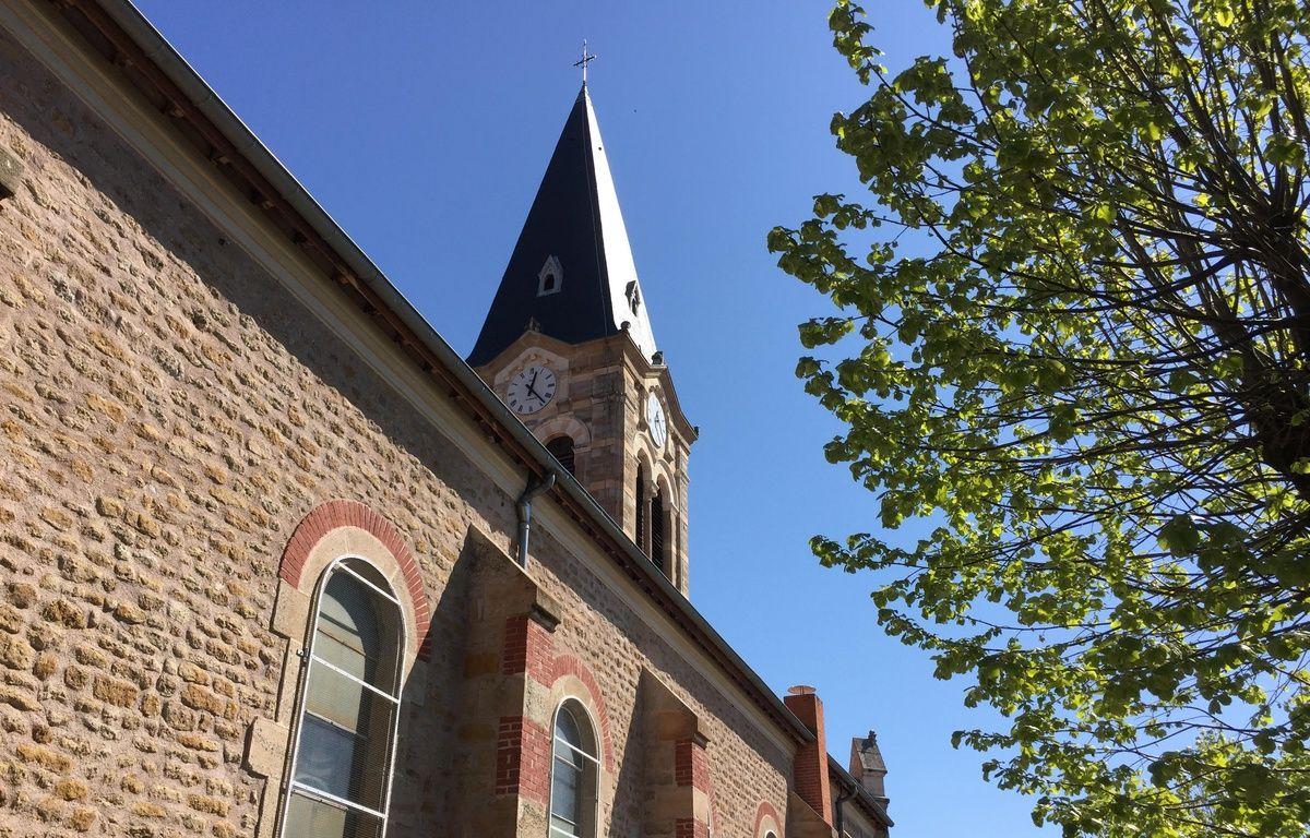Avril 2017, à la Talaudière (Loire). Le père Régis Peyrard a exercé dans cette paroisse dans les années 80. – E. Frisullo / 20 Minutes