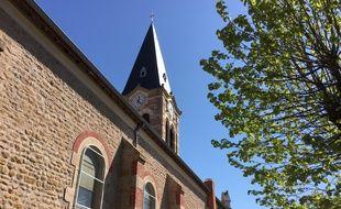Avril 2017, à la Talaudière (Loire). Le père Régis Peyrard a exercé dans cette paroisse dans les années 80.