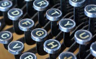Machine à écrire anglaise