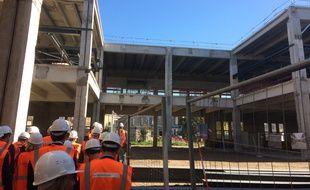 Le chantier de transformation du centre de tri postal en Cité numérique a démarré en 2013.