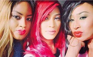 Les soeurs Sora sur Instagram - Capture d'écran