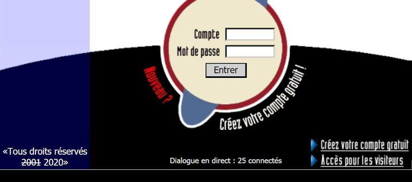 Capture d'écran du site JuneLive.net