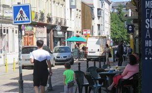 La rue de Saint-Malo a longtemps été un haut lieu des nuits rennaises.