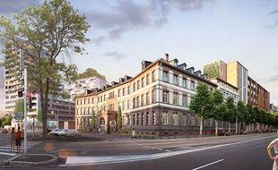 Le projet Alkove sera située dans l'ancienne clinique Adassa