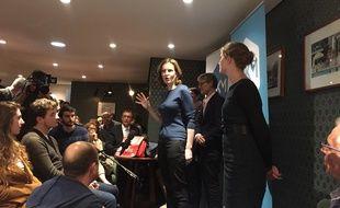 Nathalie Kosciusko-Morizet, candidate à la primaire à droite, le 10 octobre 2016 à Orléans.