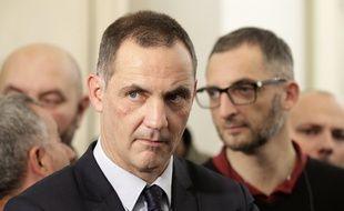 Gilles Simeoni, le leader nationaliste autonomiste corse.