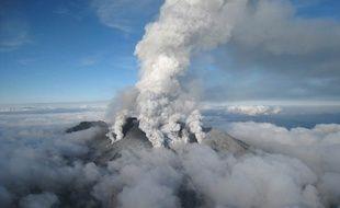 Le volcan Ontake, au Japon, s'est réveillé le 28 septembre 2014.