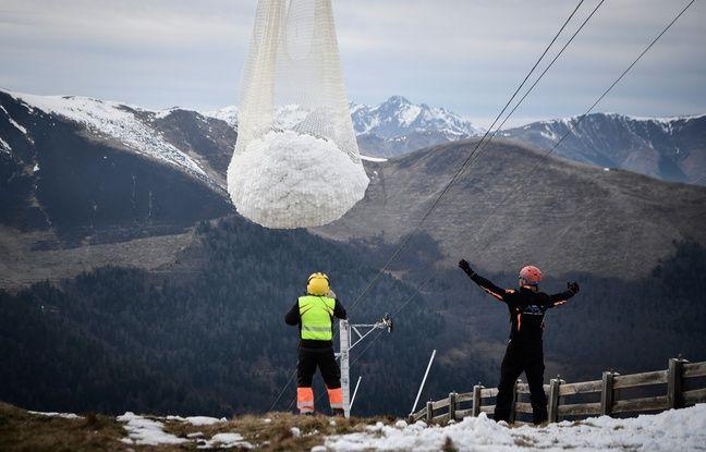 Neige par hélico dans les Pyrénées: Et maintenant, on fait quoi pour sauver les stations de ski?