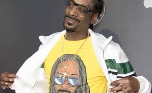 Le rappeur Snoop Dogg à la première de Can't Stop, Won't Stop: The Bad Boy Story, à Los Angeles.