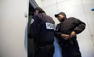 Des policiers en patrouille