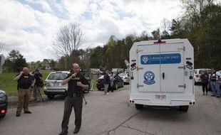 La fusillade a éclaté dans une maison de l'Ohio.