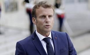 Emmanuel Macron le 27 août 2021