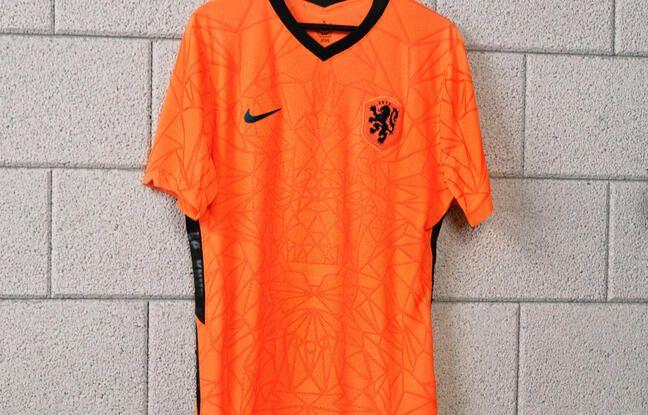 Le maillot domicile des Pays-Bas.