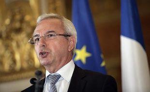 Le ministre des Affaires européennes, Jean Leonetti, le 30 juin 2011 au Quai d'Orsay, à Paris.