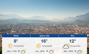 Météo Grenoble: Prévisions du samedi 16 février 2019