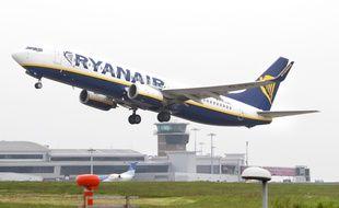 Un avion de la compagnie low cost Ryanair