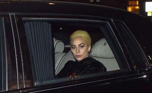 Lady Gaga à Londres le 2 décembre 2016