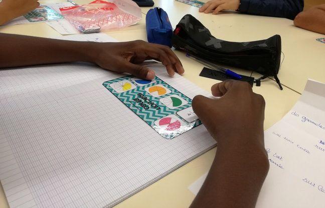 Lors d'un stage de réussite d'été, les enseignants ont plus de temps à accorder à chacun de leurs élèves en tous petits groupes, comme ici au collège Rouget-de-Lisle à Schiltigheim.
