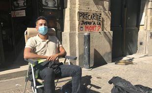 Mehdi est en grève de la faim depuis vendredi