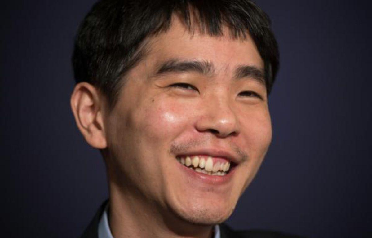 Le joueur de Go, Lee Se-Dol lors de son match contre un ordinateur développé par Google, à Séoul, le 13 mars 2016 – Ed Jones AFP