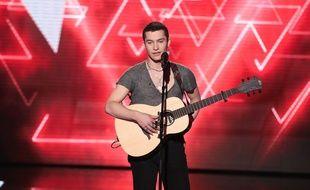 Luca, candidat de la team Zazie, a craqué lors de son audition finale