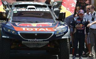 Sébastien Loeb a remporté la 2e étape du Dakar 2016.