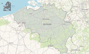 La commune du Bizet, à la frontière franco-belge.