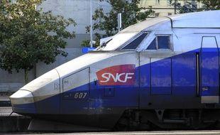 Un TGV de la SNCF.