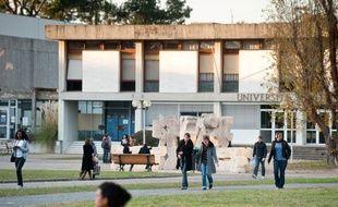 Campus de l'université de Bordeaux à Pessac. (Illustration)