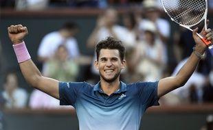 Dominic Thiem a venu à bout de Federer en finale à Indian Wells.