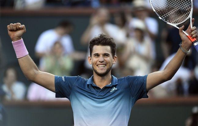 Indian Wells: En tapant Federer en finale, Thiem remporte le tournoi le plus important de sa carrière