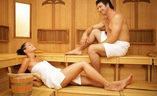 Le sauna active la circulation sanguine.