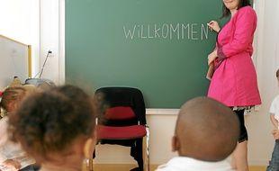 Dans les classes bilingues, on ne parle qu'allemand à la rentrée.