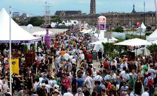 Comme en 2016, le Belem (tout au fond sur la photo) sera présent pour la Fête du vin.