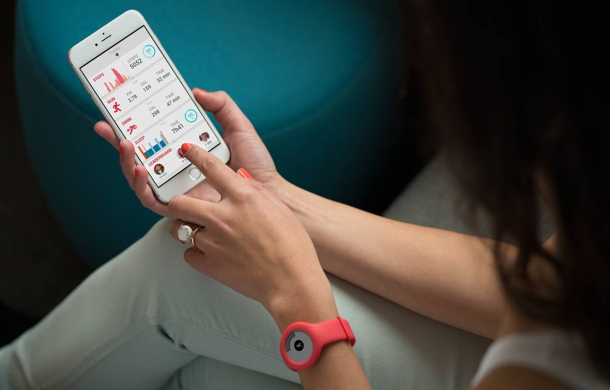 Le capteur d'activité Go de Withings permet, comme d'autres, de mesurer le nombre de nos pas quotidiens. – WITHINGS
