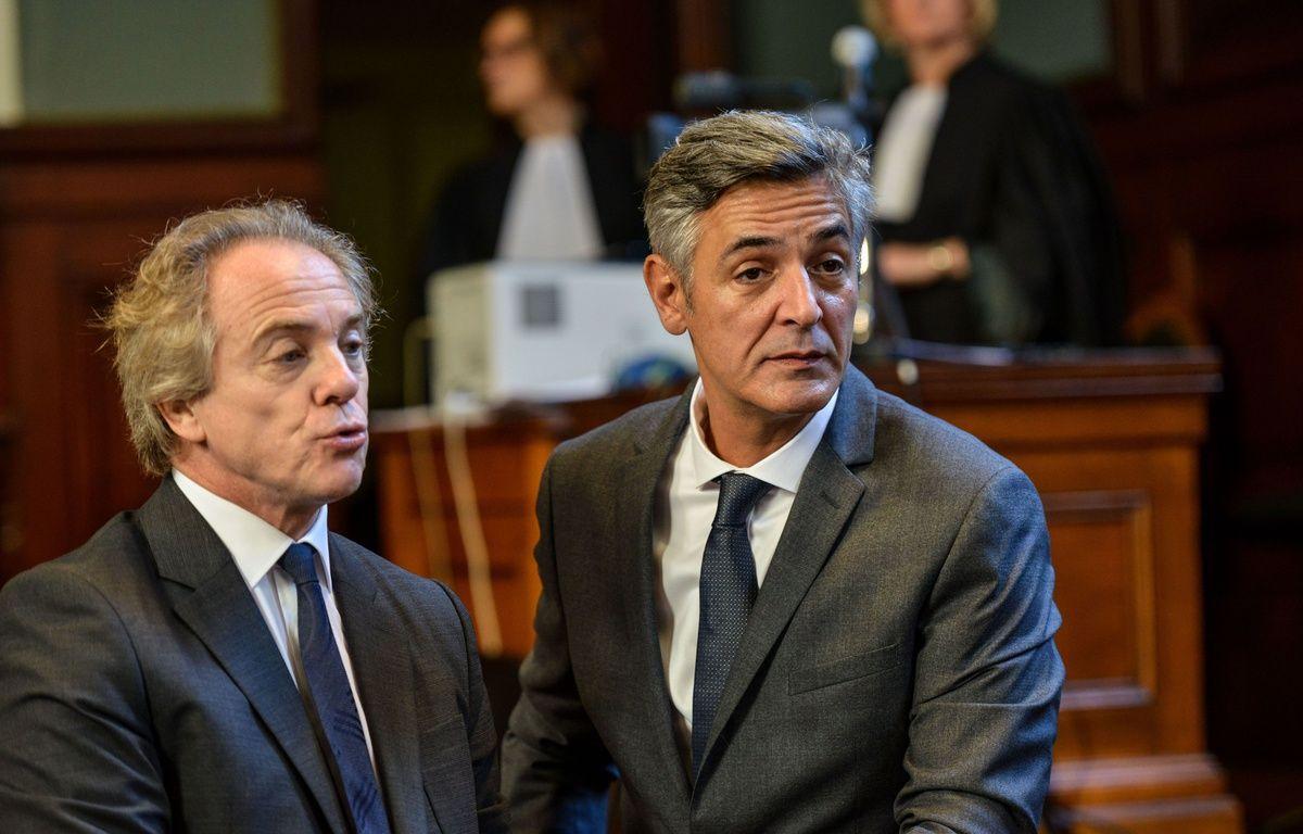 Pascal Bonnefoy, l'ancien majordome de Liliane Bettencourt, et Hervé Gattegno,ex journaliste du Point sont poursuivis pour atteinte à l'intimité de la vie privée.  Amez/SIPA/1511031354 – SIPA