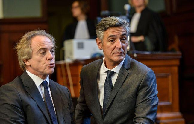 Pascal Bonnefoy, l'ancien majordome de Liliane Bettencourt, et Hervé Gattegno,ex journaliste du Point sont poursuivis pour atteinte à l'intimité de la vie privée.  Amez/SIPA/1511031354
