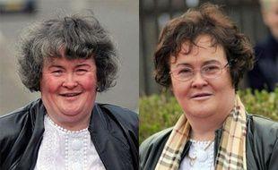 Susan Boyle avant/après