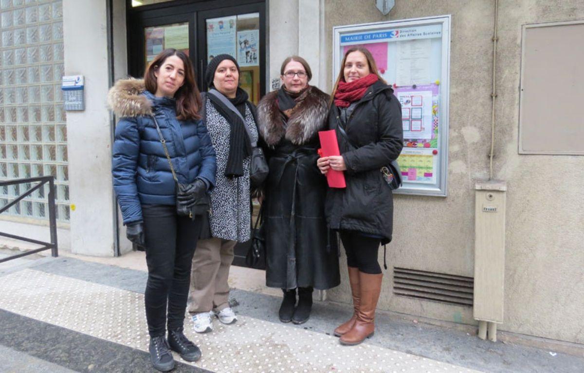 Des parents d'élèves de l'école Bercy (12e) ont bloqué pendant des semaines le bureau des directeurs pour manifester pour que ce groupe scolaire entre dans les REP.  – O. Gabriel/ 20Minutes